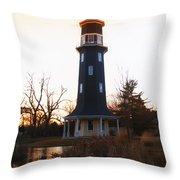 Sundown Dwight Windmill Throw Pillow