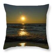 Sundown Gazing Throw Pillow