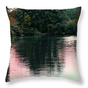 Sundown Just This Side Of The City Throw Pillow