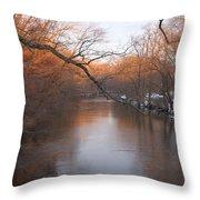 Sundown On The Breeches Throw Pillow