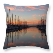 Sundown Serenade  Throw Pillow