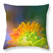 Sunflower 27 Throw Pillow