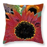 Sunflower 31 Throw Pillow
