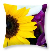 Sunflower And Company Throw Pillow