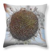Sunflower Core Throw Pillow