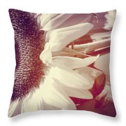 Sunflower Digital Art Throw Pillow