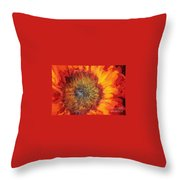 Sunflower Lv Throw Pillow