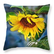 Sunflower Magic I Throw Pillow
