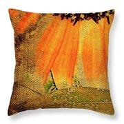 Sunflower Montage Throw Pillow