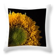 Sunflower Original Signed Mini Throw Pillow