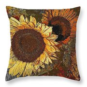 Sunflowers 397-08-13 Marucii Throw Pillow
