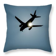 Sunflyer Throw Pillow