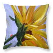 Sungloryii Detail Throw Pillow