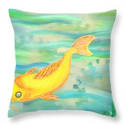 Sunken Gardens Throw Pillow