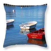 Sunken Ship Throw Pillow