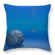Sunken Stones Throw Pillow
