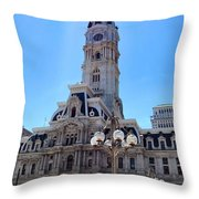 Sunlight City Throw Pillow