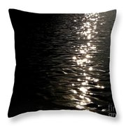 Sunlight Dance Throw Pillow