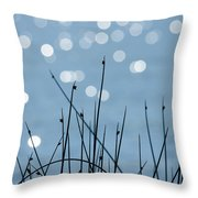 Sunlight Dances Throw Pillow