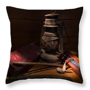 Sunlight In The Workshop Throw Pillow