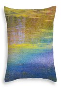 Sunlight Through Water Throw Pillow