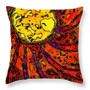 Sunny And Warm Today Throw Pillow