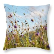 Sunny Bliss. Rest And Be Thankful. Scotland Throw Pillow