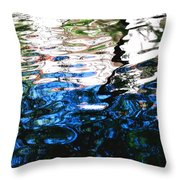 Sunny Lagoon Reflection 29417 Throw Pillow