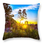 Sunny Morning Throw Pillow