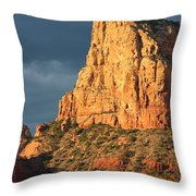 Sunny Side Of Sedona Throw Pillow