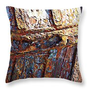 Sunny Side Up - Digital Art Throw Pillow