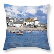 Sunny St Ives Throw Pillow
