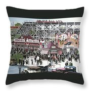 Sunnyside Park Throw Pillow