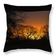 Sunrise - Another Perspective Throw Pillow