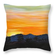 Sunrise - A New Day Throw Pillow
