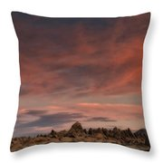 Sunrise Alabama Hills Near Lone Pine Ca Mg 0619 Throw Pillow