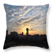 Sunrise Arise Buffalo Ny V1 Throw Pillow