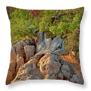 Sunrise At Bryce Canyon National Park Utah Throw Pillow