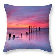 Sunrise At Deal Nj Throw Pillow