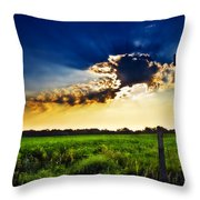 Sunrise At E5 And 180 Throw Pillow