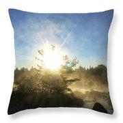 Sunrise At Holeb Throw Pillow