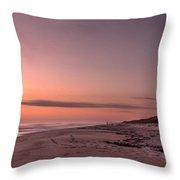 Sunrise At Playalinda Beach Throw Pillow