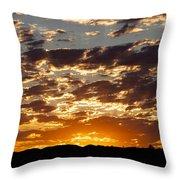 Sunrise At Spirit Lake Sanctuary 20140710 0604 Throw Pillow