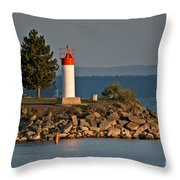 Sunrise At The Park Throw Pillow