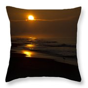 Sunrise Atlantic Beach Nc Throw Pillow