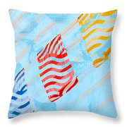 Sunrise C Throw Pillow
