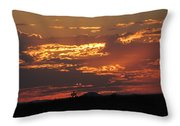 Sunrise Closeup 9-11-2013 Throw Pillow