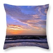 Sunrise Cloudshadows Throw Pillow