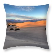 Sunrise Dunes Throw Pillow