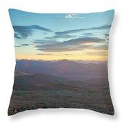Sunrise From Mt Sherman Panorama Throw Pillow